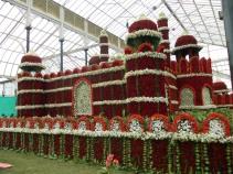 Floral Red Fort